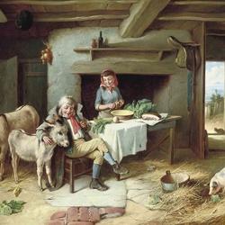 Пазл онлайн: В сельском доме