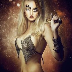 Пазл онлайн: Воинственная дева