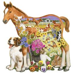 Пазл онлайн: Пони и друзья
