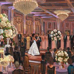 Пазл онлайн: Свадебный танец