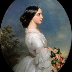 Пазл онлайн: Кармен Агуадо, герцогиня де Монморанси