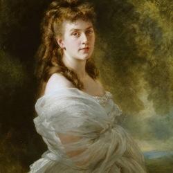 Пазл онлайн: Саша фон Мецлер, графиня Шлиппенбах