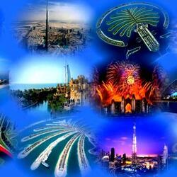 Пазл онлайн: Дубаи