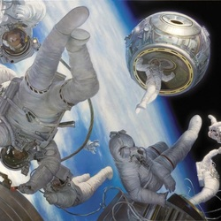 Пазл онлайн: День космонавтики