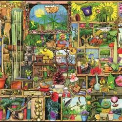 Пазл онлайн: Шкаф садовника