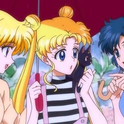 Пазл онлайн: Минако, Бани и Ами