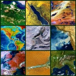 Пазл онлайн: Краски земли