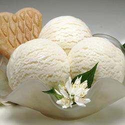Пазл онлайн: Ванильное мороженое