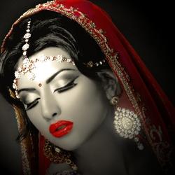 Пазл онлайн: Индианка
