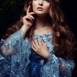 Пазл онлайн: Сказочная принцесса