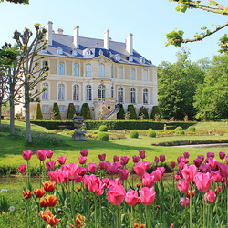 Пазл онлайн: Замок весной