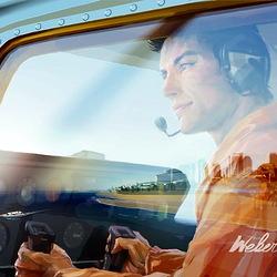 Пазл онлайн: Пилот