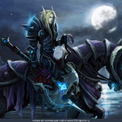 Пазл онлайн: Рыцарь смерти
