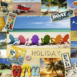 Пазл онлайн: Хорошего отпуска