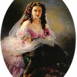 Пазл онлайн: Варвара Дмитриевна Римская-Корсакова