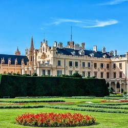 Пазл онлайн: Замок Леднице