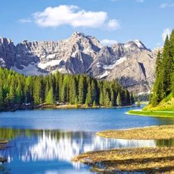 Пазл онлайн: Озеро в Италии