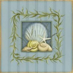 Пазл онлайн: Морской орнамент