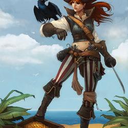Пазл онлайн: Сокровища пиратов