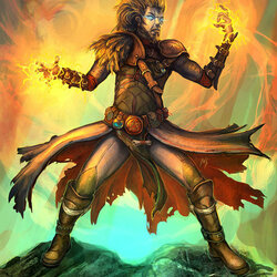 Пазл онлайн: Тёмный волшебник