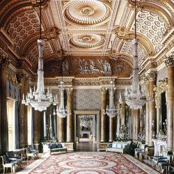 Пазл онлайн: Букингемский дворец