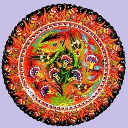 Пазл онлайн: Турецкая керамика