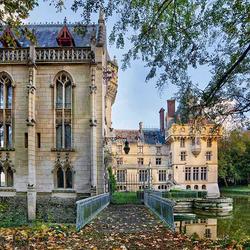 Пазл онлайн: Замок Château de Vigny
