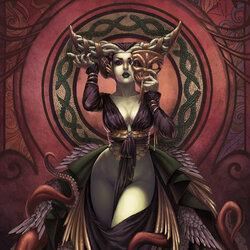 Пазл онлайн: Королева Медуза