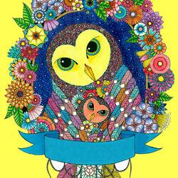 Пазл онлайн: Птички в саду
