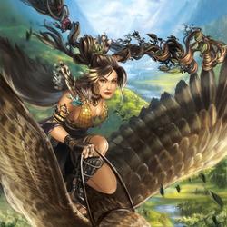 Пазл онлайн: Чародейка из круга друидов