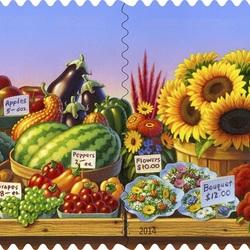 Пазл онлайн: Сезонный фермерский рынок