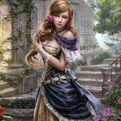 Пазл онлайн: Принцесса Карен