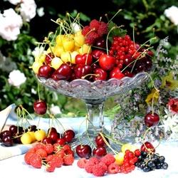Пазл онлайн: Солнечные ягоды