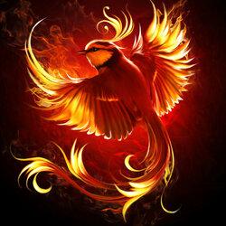 Пазл онлайн: Огненная птица