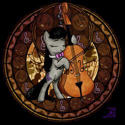 Пазл онлайн: Октавия и её виолончель