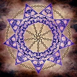 Пазл онлайн: Магический круг скованного ока