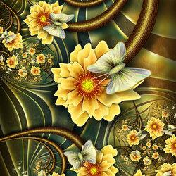 Пазл онлайн: Первомайские цветы