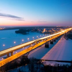 Пазл онлайн: Зима в Уфе