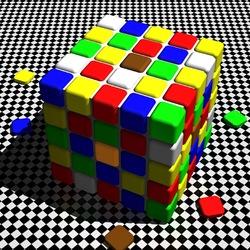 Пазл онлайн: Кубик