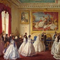 Пазл онлайн: Свадьба герцога Гессенского и принцессы Алисы
