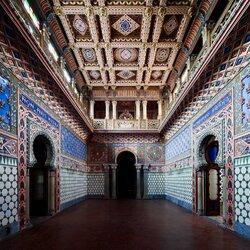 Пазл онлайн: Замок Саммеццано