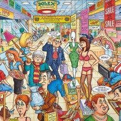 Пазл онлайн: Супермаркет