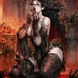Пазл онлайн: Принцесса зомби Дескеа