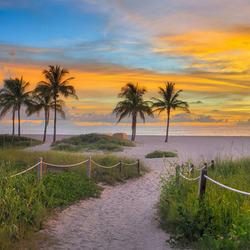 Пазл онлайн: Песчаный пляж