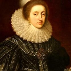 Пазл онлайн: Елизавета Стюарт