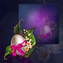Пазл онлайн: Пасхальная композиция