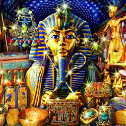 Пазл онлайн: Сокровища Египта