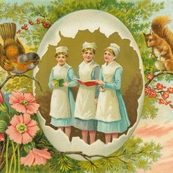 Пазл онлайн: Счастливой Пасхи