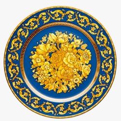 Пазл онлайн: Синяя Флоралия