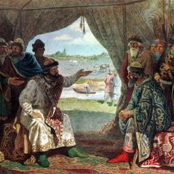 Пазл онлайн: Долобский съезд князей